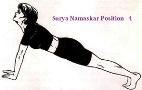 Surya Namaskar 5th position