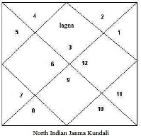north indian birth chart1