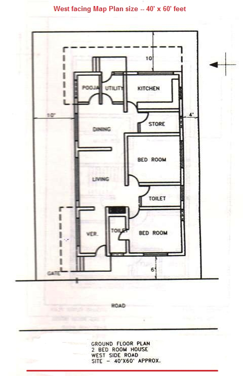 Maps9west facing complete plan