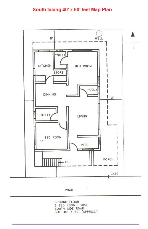 Vastu plan for south facing house - House plans